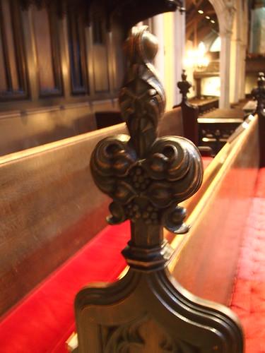 Emmanual Church stall detail