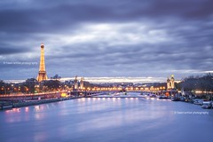 Paris before the storm (Hasinavalona) Tags: storm paris eiffeltower pontalexandre photographyforrecreation