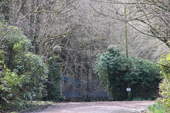 Blue gates, Carmichael Estate (IMG_9339)