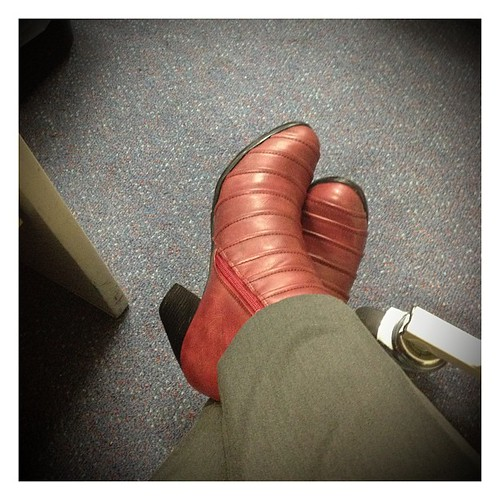 New berry boots. #happy365 #boots #shoes #instagood
