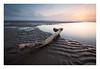 Come To Rest (A-D-Jones) Tags: ocean wood sea orange sun seascape beach pool set landscape sand soft place anthony ripples another gentle drift crosby merseyside hightown gormleys blundellsands