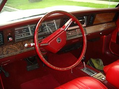 85 Dodge Dash 83 NOS Steering wheel & 84 dashpad & woodgrain trim (da90027) Tags: car k 80s 600 dodge dashboard chrysler 1985 lebaron