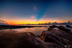 (M.K. Design) Tags: 2016   mk                       mkdesign taiwan taitung travel landscape seascape hdr longexposure nikon d800e afs1424mm28g sunrise ocean sea rock stone nature glow pacificocean