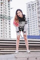 Untitled (Raev Yap) Tags: asian girl woman female photography portrait 60d canon art outdoor fashion conceptual korean