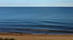 Bliss (Jan Nagalski) Tags: blue bluesea lake big greatwater gitchegumee kitchigami ojibwa ojibwe nativeamerican henrywadsworthlongfellow poem poet hiawatha lakesuperior northernmichigan puremichigan upperpeninsula upnorth michigan jannagalski jannagal minimalism minimalist footprints waves