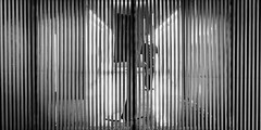 Behind The Lines (Sean Batten) Tags: london england unitedkingdom gb blackandwhite bw nikon df 35mm cityoflondon streetphotography street