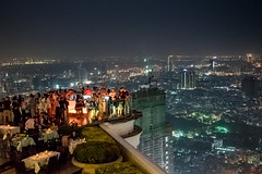 Above Bangkok (De Wet Moolman) Tags: bangkok view bar lebua skybar drinks thailand