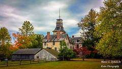 Ye Olde Country Inn (walter2046) Tags: trees country landscape quaint house village structures building rural autumnscene rustic batsto