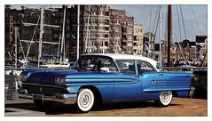 1958 - Oldsmobile 88 Holiday (Ruud Onos) Tags: 1958 oldsmobile 88 holiday 1958oldsmobile88holiday oldsmobile88holiday al5173 nationale oldtimerdag lelystad nationaleoldtimerdaglelystad ruudonos oldtimerdaglelystad havhistorischeautomobielverenigingnederland