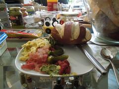 Frhstck in Tempelhof (conticium) Tags: frhstck tempelhof breakfast berlin laugenbrtchen