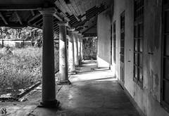 Corridor (sajathahamed) Tags: architecture building monochrome mantheevu batticaloa markii 7d canon bw corridor white black blackwhite