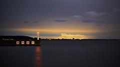 Lighthouse (yoshikazu kuboniwa) Tags: architecture bay beach beacon beautiful blue building city clouds harbor landscape light lighthouse maritime nature ocean old sea sky tower water sony kasumigaura japan japanese ibaraki lake