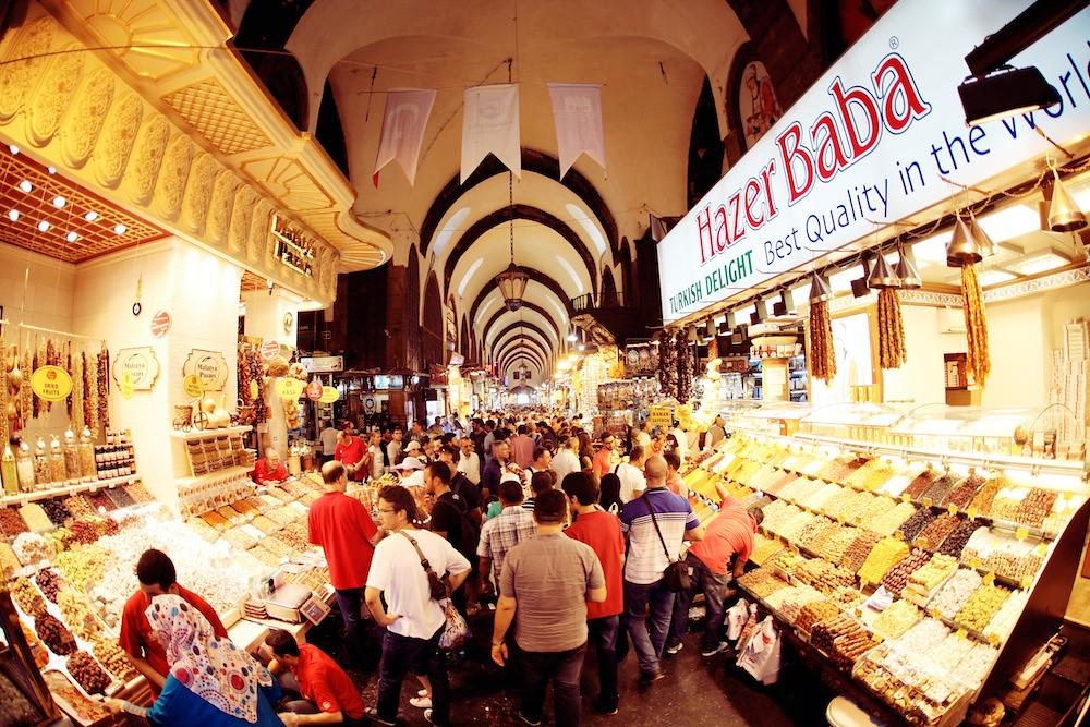 Istanbul Spice Bazaar.