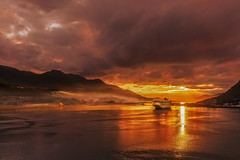 Sunset Over Juneau-Alaska (Thaiexpat) Tags: juneau sunset water ship colors 2016 alaska cruise family vacation