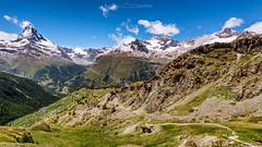 Matterhorn (Julien Bukowski) Tags: ch che cervin et europe landscape matterhorn montagne mountain paysage suisse summer switzerland valais zermatt