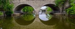 I Spy (Jon Ariel) Tags: canada bridge reflection stratforduponavon ontario water