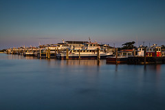 Boat Basin (Bob90901) Tags: boatbasin captreestatepark longisland newyork summer rpg90901 longexposure goldenhour water boats evening 2016 september seaside shore waterfront islip neutraldensity graduatedneutraldensity canon 6d canonef2470mmf28liiusm sky leebigstopper nd10 gradnd filter lee 09gradnd