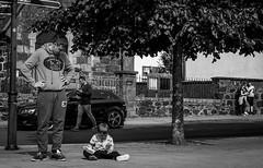 frustrated (Chilanga Cement) Tags: nikon nikond810 nik bw blackandwhite street frustration shoe child boy tree portree scotland