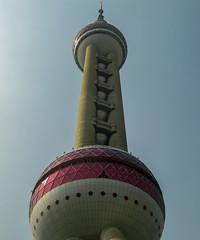 Shanghai (P. Burtu) Tags: 2009 kina shanghai tvtorn vr china architecture arkitektur sommar summer himmel sky byggnad tower tv