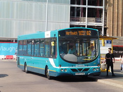 Arriva Buses Wales 2646 - CX07 CTO (North West Transport Photos) Tags: arriva arrivabuseswales abw vdl vdlsb200 sb200 wright wrightbus pulsar wrightpulsar cx07cto 2646 chester chesterbusstation chesterbusexchange 82 northwich gha ghacoaches bus