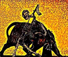 22549742265_540a18e91d_b (THE ART OF STEFAN KRIKL) Tags: originalart reaper toros bullfight deathintheafternoon