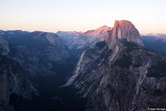 Yosemite at Sunset (isaac.borrego) Tags: uploadedviaflickrqcom mountains valley light evening sunset glacierpoint halfdome yosemite nationalpark canonrebelt4i