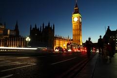 Westminster Bridge (The Relevant Authorities) Tags: london westminster palaceofwestminster parliament bigben elizabethtower clocktower bridge night dusk twilight lights traffic housesofparliament