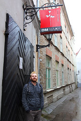 Craig outside the Depeche Mode bar in Tallin (ec1jack) Tags: depechemode bar tallin estonia oldtown ec1jack kierankelly canoneos600d august september 2016 summer europe scandinavia
