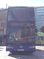 Scania N230UD/Olympus (YN08 HYM) (jamesfletcher567) Tags: information operator reading buses makemodel scania n230udeast lancs olympus registration number yn08 hym fleet 856 owned from new history na royal blue 3333a