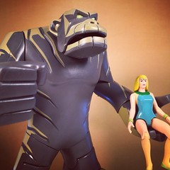 Igoo and Tara (WEBmikey) Tags: toys herculoids toynami hannabarbera