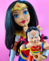 Wonder Woman - Super Hero Girls Doll (Mattel) (JillyBeanSSF) Tags: dc comics superhero wonderwoman looney tunes doll mattel