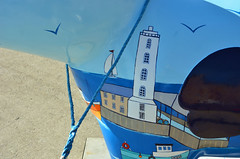Skipper-K-17-September-2016 (Steve Ellwood Whitley Bay) Tags: greatnorthsnowdogs guidedog mikeclay northshields cliffordsfort ellwood steveellwood skipper joannewishart dfds westernquay fishquay