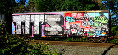 TITS crew (timetomakethepasta) Tags: tits crew wholecar freight train graffiti boxcar art selkirk new york bkty hype clown sg jaws retro devil sket spe kolage buck zack seroe potna mez slie pays mews hesk dease drane money shot