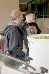 John from Rogue Ales & Ken from North Coast Brewing Co (deschutesbrewery) Tags: collaboration barleywine rogueales northcoastbrewingcompany deschutesbrewery classof88