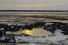 "Sunset on the tundra on the Hudson Bay • <a style=""font-size:0.8em;"" href=""http://www.flickr.com/photos/92120860@N06/8453684283/"" target=""_blank"">View on Flickr</a>"
