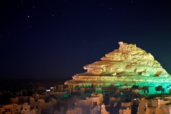 Siwaian Nights (Moumen yasser) Tags: sky night stars moutain siwa