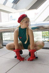 sarafong-cammy1 (CammyFan) Tags: anime japan costume sara cosplay manga videogame pigtails cammy streetfighter chunli capcom fong  fightinggame cammywhite    cammyfan wwwcammyfancom cannonspike