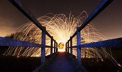 Untitled-3 (Jambo_1986) Tags: winter lightpainting cold fire leicester paintingwithlight wirewool lppg