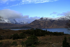 Torridon - Scottish Highlands (Ally.Kemp) Tags: winter snow mountains scotland scottish highland loch peninsula torridon westerross applecross shieldaig