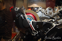 show chicago view cut engine international motorcycle clutch dual disc transmission 700cc 2013 nc700