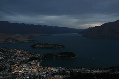 Queenstown 2013 (Daniel Hischer) Tags: city night landscape queenstown bobspeak