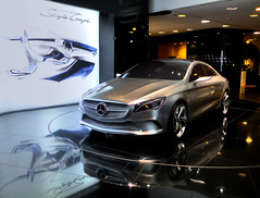 Mercedes 2012 Concept Style Coup (Claude@Munich) Tags: auto car sedan germany deutschland mercedes c style mercedesbenz concept coupe hdr aklasse coup daimler 117 studie cla aclass bclass c117 compactcar bklasse claudemunich fourdoor kompaktwagen viertrig kompaktklasse conceptstylecoupe claklasse