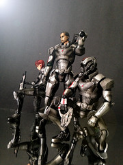 Play Arts Kai - Mass Effect - N7 (opt1cs) Tags: 2 3 square soldier 1 play arts kai mass custom squareenix enix effect commander shepard n7