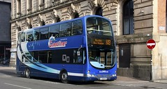 Manchester-on-Sea (georgeupstairs) Tags: manchester eclipse volvo yorkshire wright gemini 411 coastliner transdev b9tl fj08byh