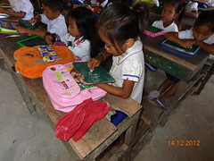 Cambodia: Girl solves a math problem (Global Partnership for Education - GPE) Tags: girlseducation cambodia deepasrikantaiah 2012 education primaryeducation basiceducation math numeracy globalpartnershipforeducation gpe