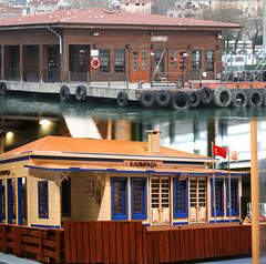 Kasmpaa Ferry Terminal - which is the real one? (vetaturfumare - thanks for 2 MILLION views!!!) Tags: ferry museum model terminal transportation ko rahmi kasimpasa kasmpaa iskelesi