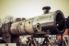 42073 stripped bare (Charlie Little) Tags: train samsung steam locomotive railways nx lakesidehaverthwaiterailway 42073 havethwaite