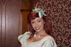 Fantasy Faire at Disneyland (insidethemagic) Tags: princess disneyland belle rapunzel beautyandthebeast fantasyland tangled royaltheatre royalhall fantasyfaire