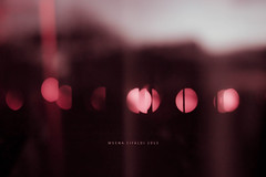 Red.Bokeh (WeenArtistic) Tags: pink red white broken twilight bokeh silk satin blanck