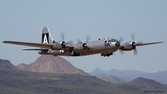 B29 FIFI (Tom_Morris Photos) Tags: wwii boeing bomber fifi caf b29 superfortress commemorativeairforce deervalleyairport confederateairforce n529b cafairpowerhistorytour
